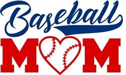 Baseball Mom print art