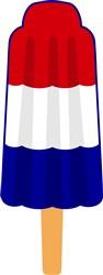 Patriotic Popsicle print art