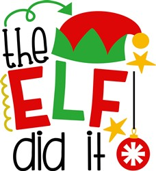 The Elf Did It print art