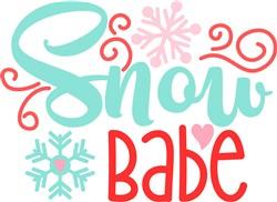 Snow Babe print art