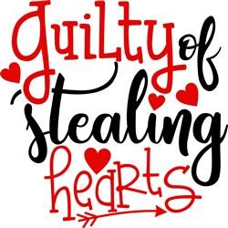 Guilty Of Stealing Hearts print art