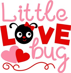 Little Love Bug print art