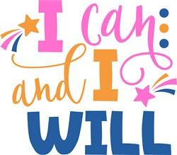 I Can & Will print art