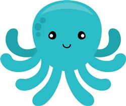 Kawaii Octopus print art