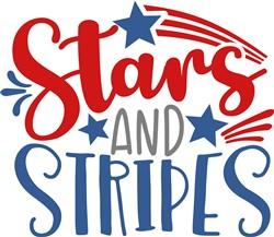 Stars And Stripes print art