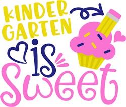 Kindergarten Is Sweet print art