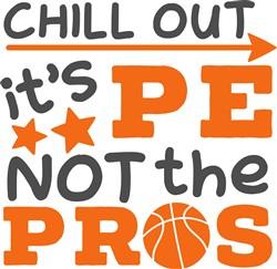 It's PE Not The Pros print art