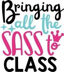 Bringing Sass To Class print art