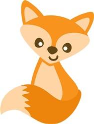 Kawaii Fox print art