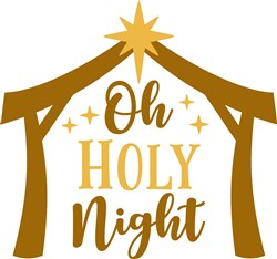 Oh Holy Night print art