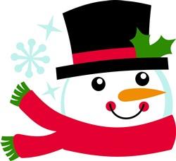 Christmas Snowman print art