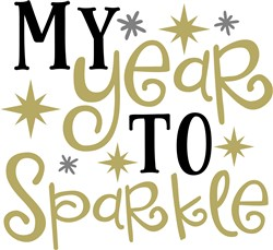 My Year To Sparkle print art