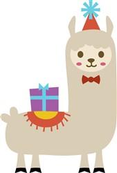 Party Llama print art