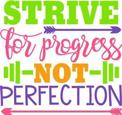 Strive For Progress print art