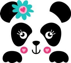 Kawaii Panda Pocket Topper print art