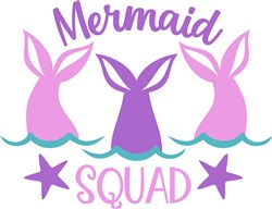 Mermaid Squad print art
