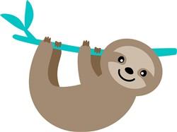 Sloth print art