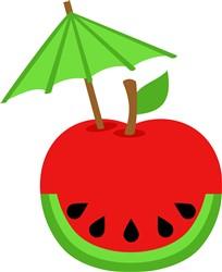 Apple Watermelon print art