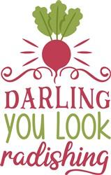 Darling You Look Radishing print art