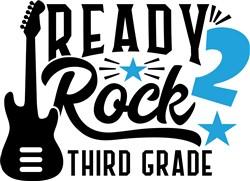 Ready 2 Rock Third Grade print art