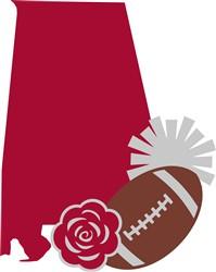 Alabama Football print art
