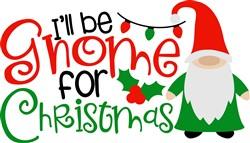 Gnome For Christmas print art