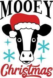 Mooey Christmas print art