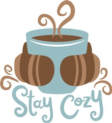 Stay Cozy print art