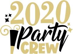 2020 Party Crew print art