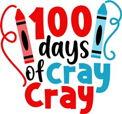 100 Days of Cray Cray print art
