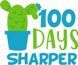 100 Days Sharper print art