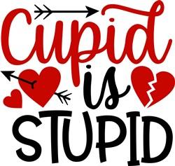Cupid Is Stupid print art