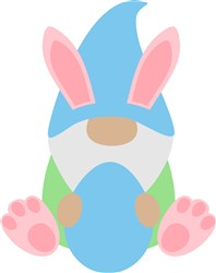 Easter Gnome print art