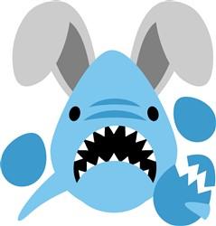 Easter Shark print art