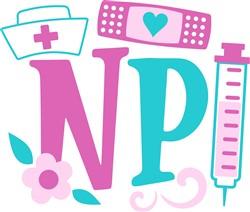 Nurse Practitioner print art