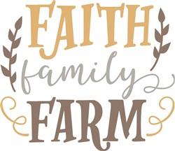 Faith Faily Farm print art