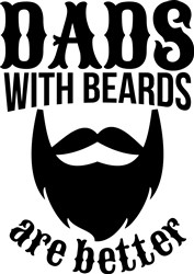 Dads With Beards print art