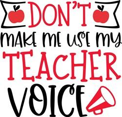 Teacher Voice print art