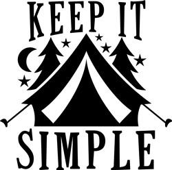 Keep It Simple print art