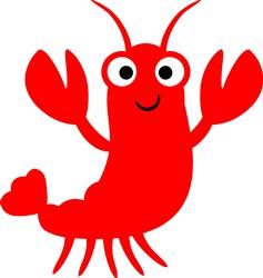 Lobster print art