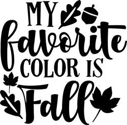 Favorite Color Is Fall print art