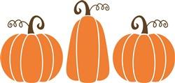 Pumpkin Trio print art