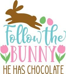 Follow The Bunny print art