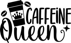 Caffeine Queen print art