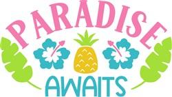 Paradise Awaits print art