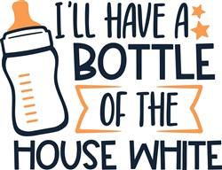 A Bottle print art
