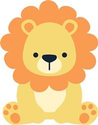 Lion print art