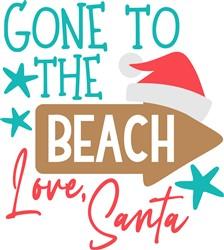 Gone To Beach print art