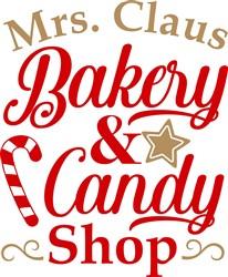 Bakery & Candy Shop print art