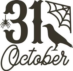31 October Halloween print art